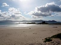 Ballinskelligs Beach with the Iveragh Peninsula